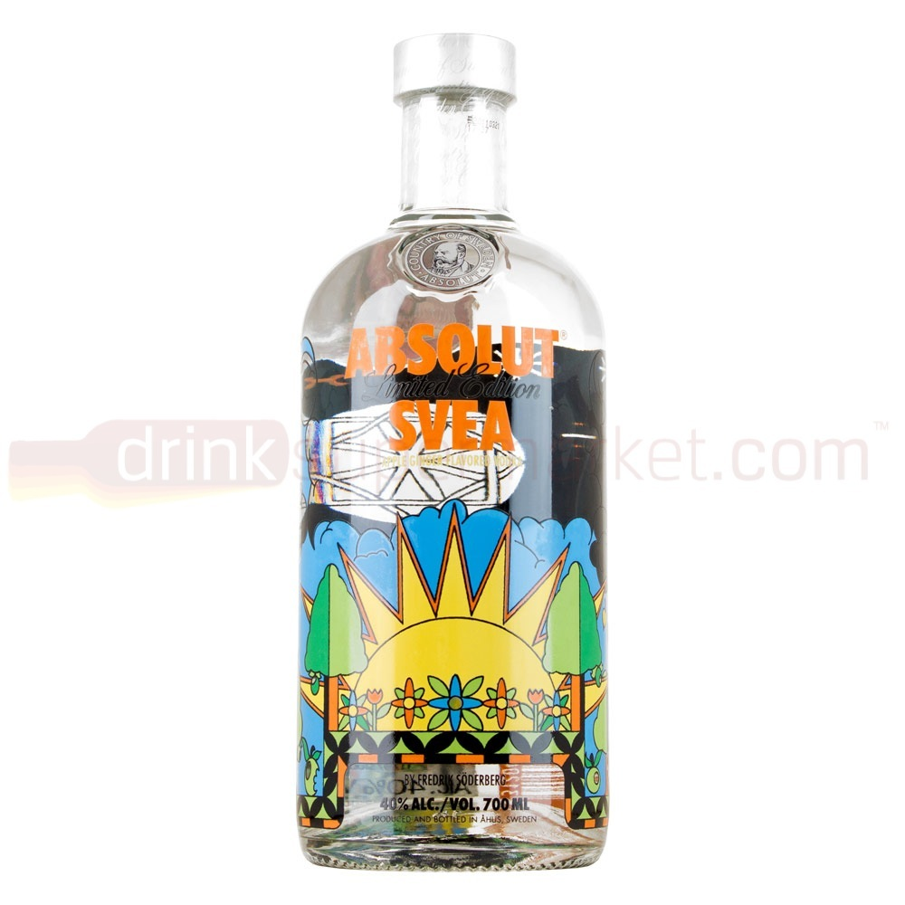 Absolut SVEA Limited Edition Vodka 70cl