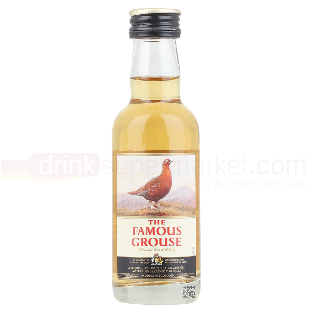 Famous Grouse Whisky 5cl Miniature