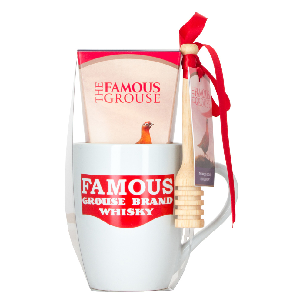 The Famous Grouse Whisky 5cl Miniature & Hot Toddy Mug Gift Set