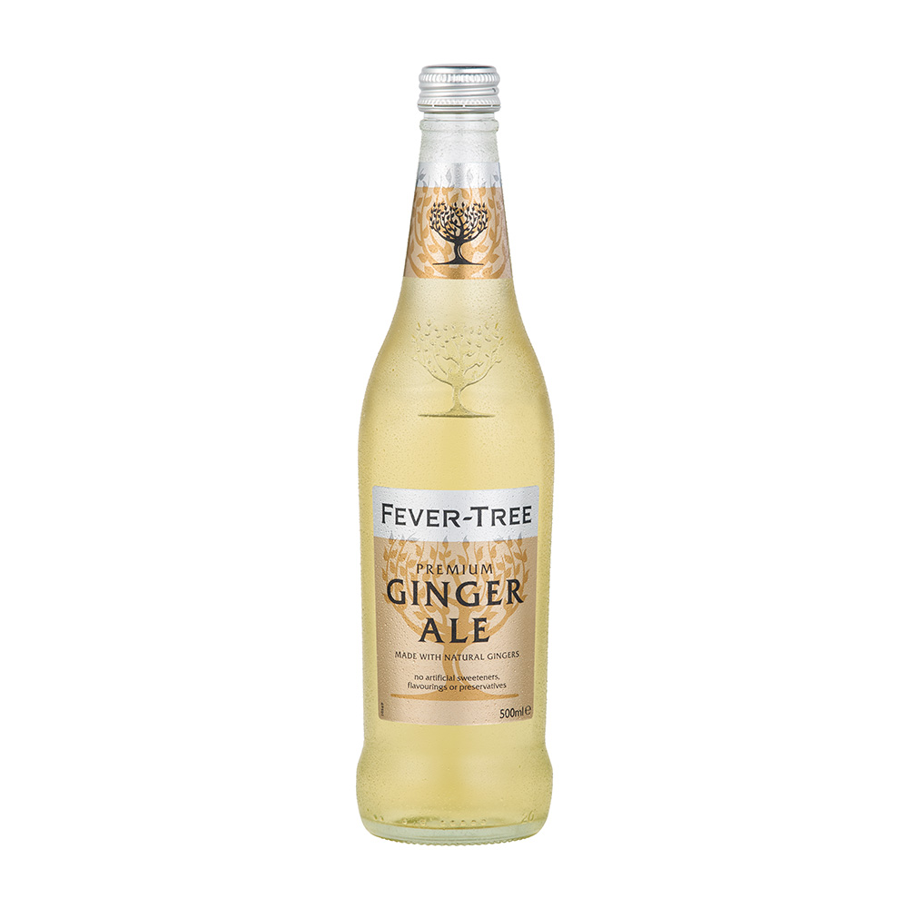 Image of Fever Tree Ginger Ale 8x 500ml