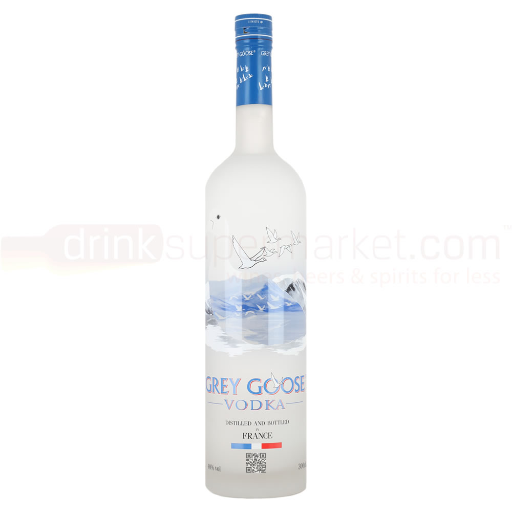 Grey Goose Vodka 3Ltr Jeroboam