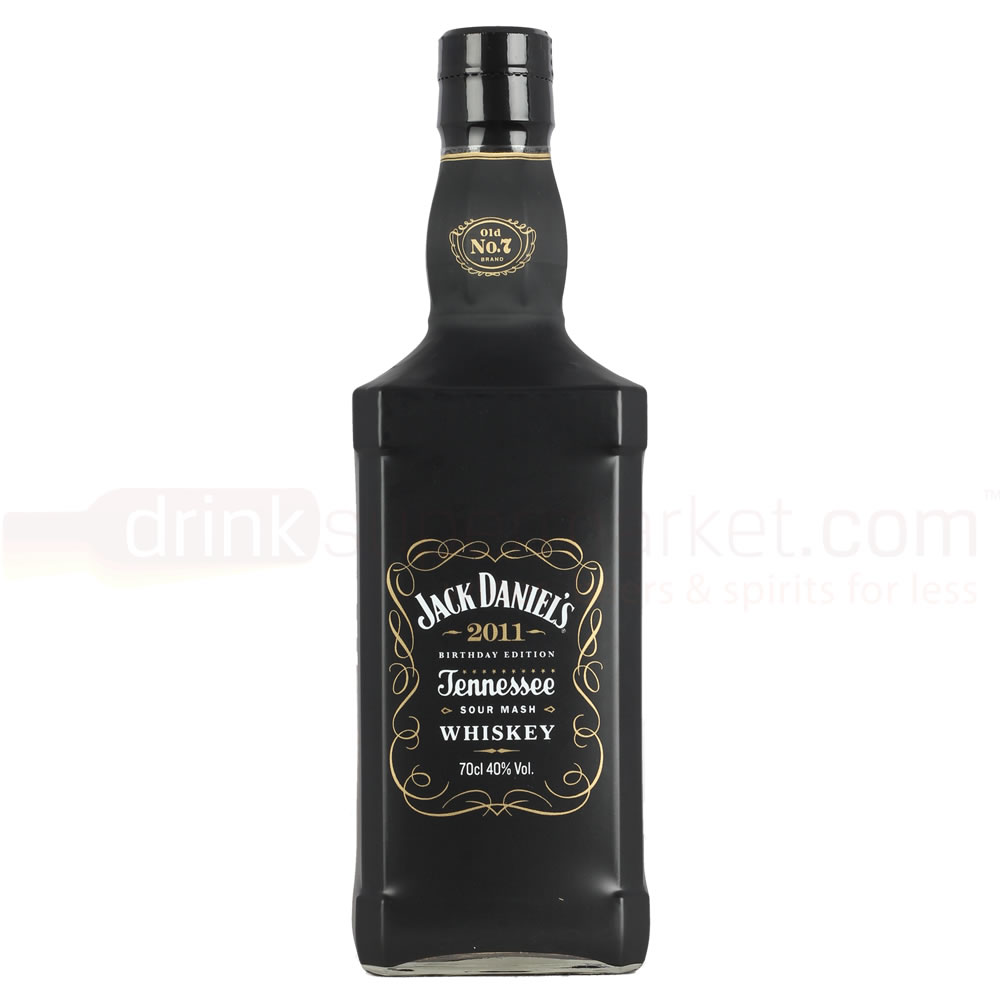 Jack Daniels Old No 7 2011 Birthday Edition Whiskey 70cl