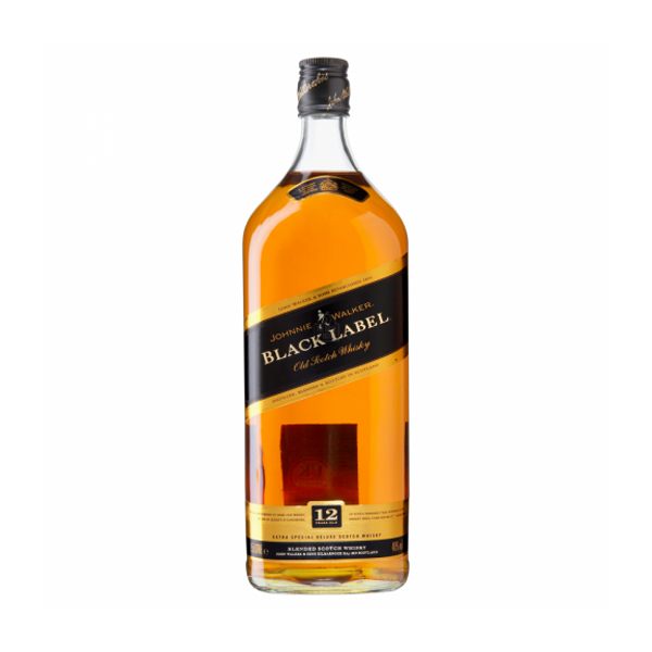 Johnnie Walker Black Label 12 Year Whisky 4.5Ltr Rehobam