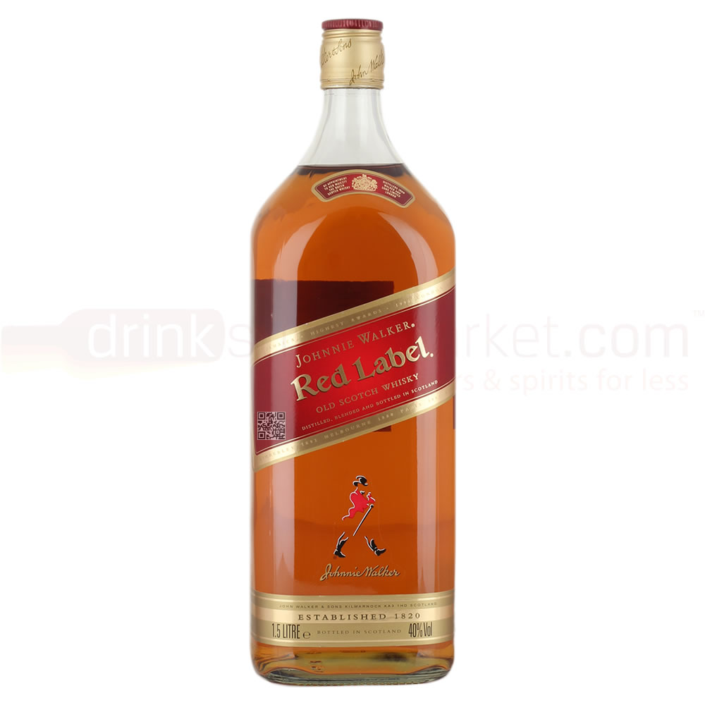 Johnnie Walker Red Label Whisky 1.5Ltr Magnum