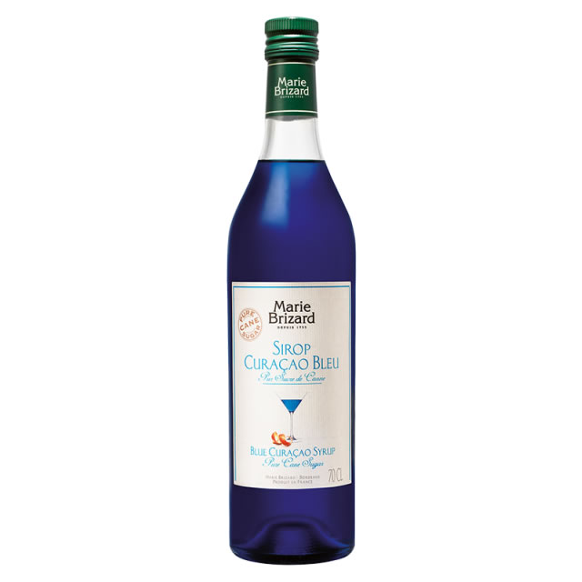 Image of Marie Brizard Blue Curacao Syrup 70cl