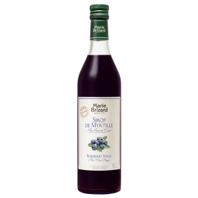 Image of Marie Brizard Blueberry Syrup 70cl