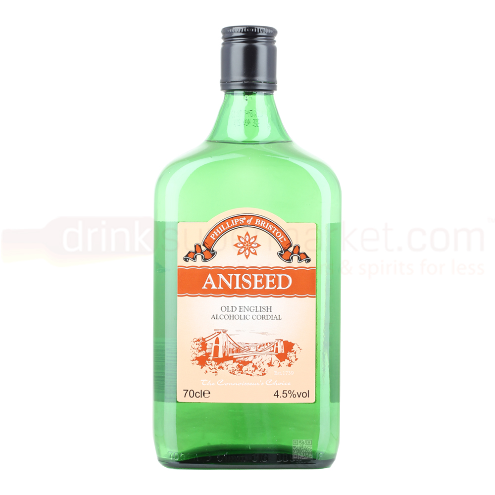 Image of Phillips Old English Aniseed Cordial 70cl