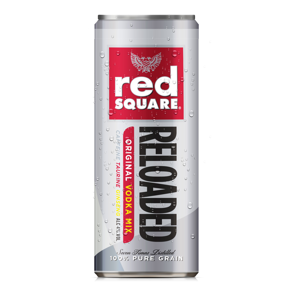 Image of Red Square Reloaded Premix Can 250ml