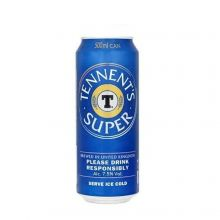Tennents Super Strong Lager 24x 500ml