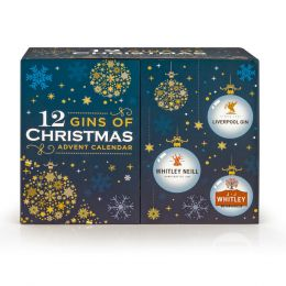 12 Gins of Christmas Advent Calender 12x 50ml