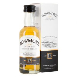 Bowmore 12 Year Whisky 5cl Miniature