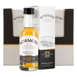Bowmore 12 Year Whisky 12x 5cl Miniature Pack