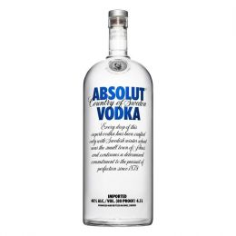 Absolut Blue Vodka 4.5Ltr Rehoboam