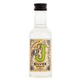 Admiral Vernons Old J Silver Rum 5cl Miniature
