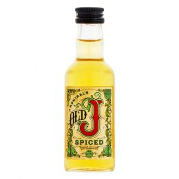 Admiral Vernons Old J Spiced Spiced Rum 5cl Miniature