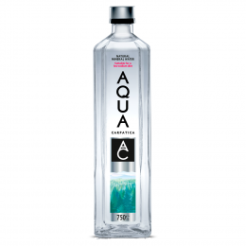 Aqua Carpatica Still Natural Water 6x 75cl