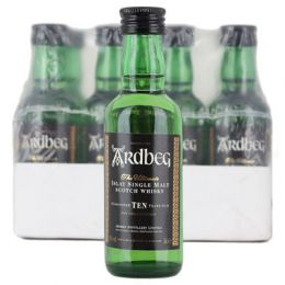 Ardbeg 10 Year Whisky 12x 5cl Miniature Pack