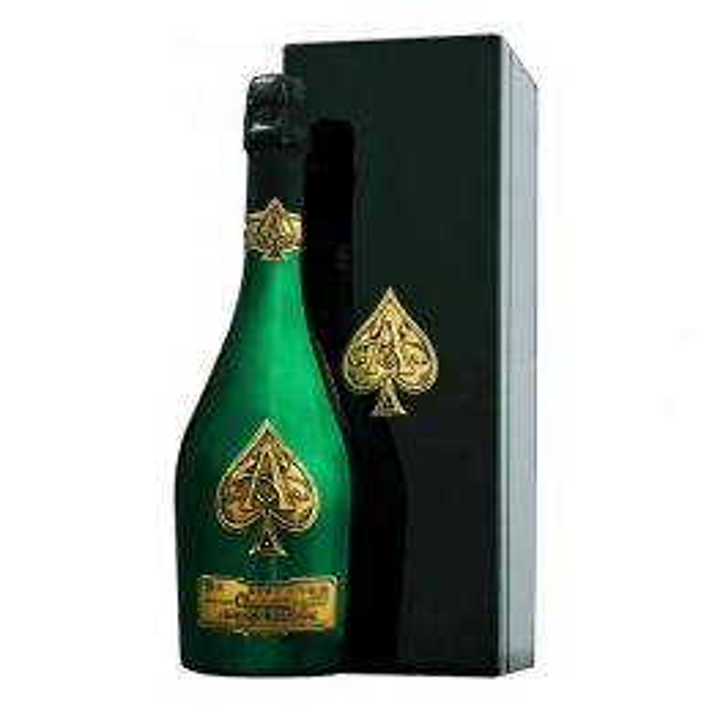 Armand De Brignac Ace Of Spades Brut Champagne Green Master Edition 75cl