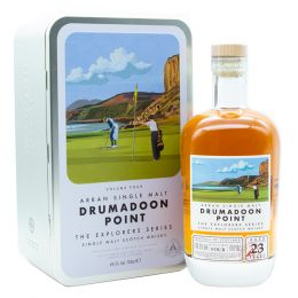 Arran Kildonan & Pladda Island 21 Year Whisky 70cl
