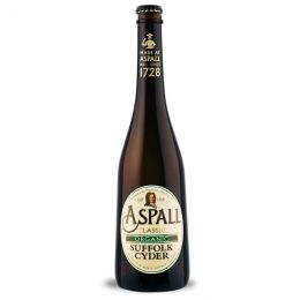 Aspall Organic Suffolk Cyder 500ml Bottle