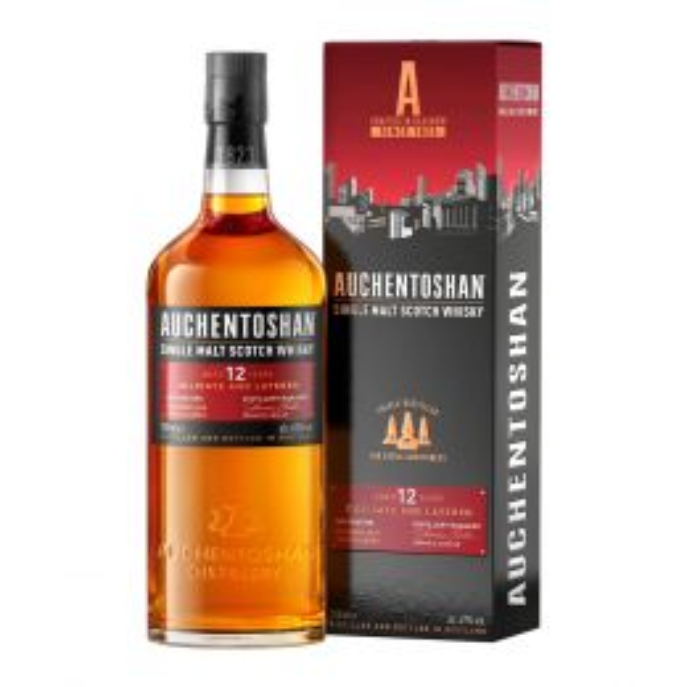 Auchentoshan 12 yo Lowland Single Malt Scotch Whisky 70cl 40%