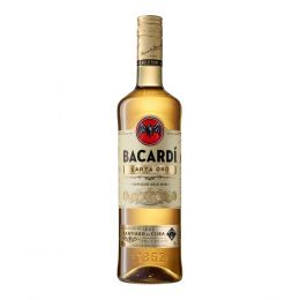 Bacardi Carta Oro Gold Rum 70cl