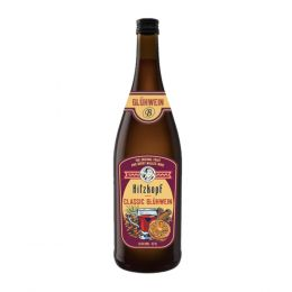 Bavaria Hitzkopf Classic Gluwein Mulled Wine 1Ltr