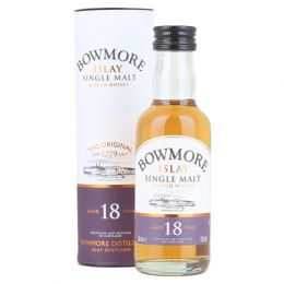 Bowmore 18 yo Islay Single Malt Scotch Whisky Miniature 5cl