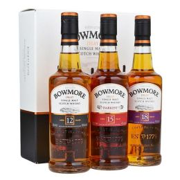Bowmore Collection of Whiskies 3x 20cl Gift Tasting Pack