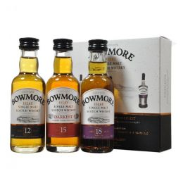 Bowmore Collection of Whiskies 3x 5cl Gift Pack