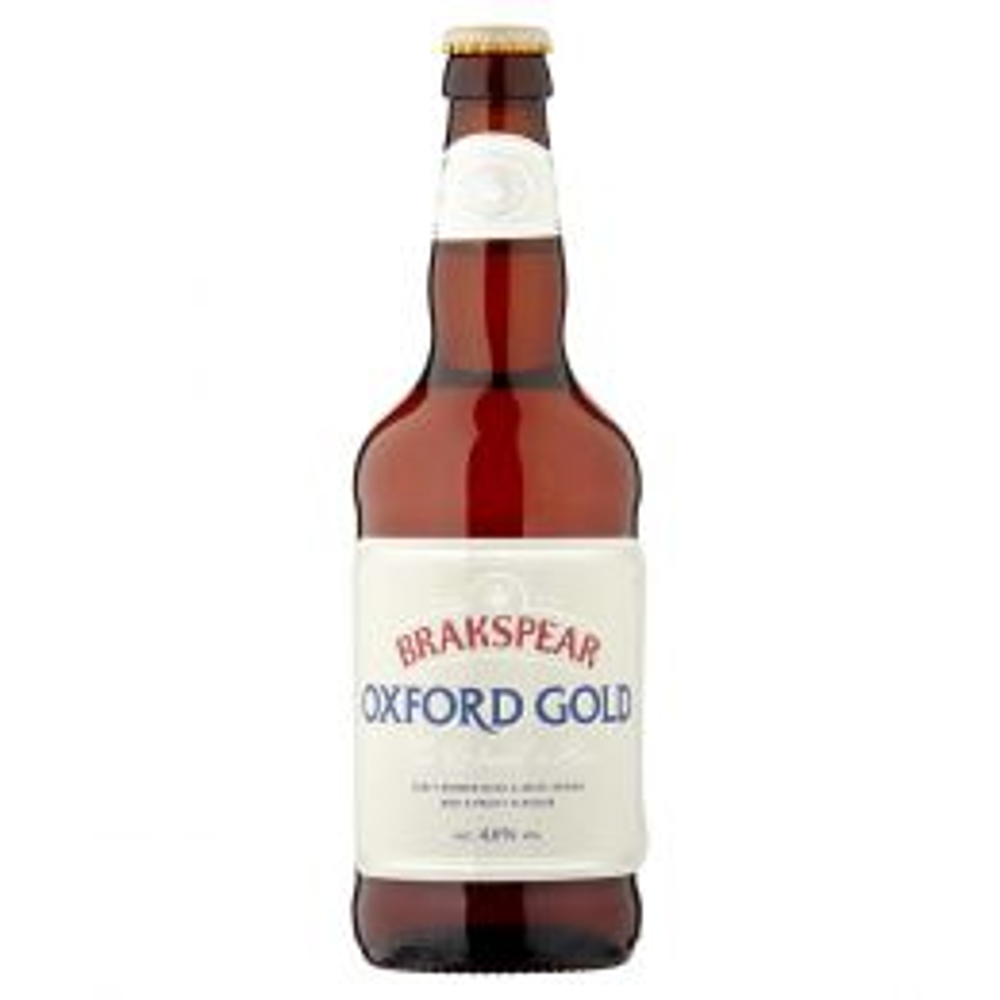 Brakspear Oxford Gold Golden Ale 8x 500ml