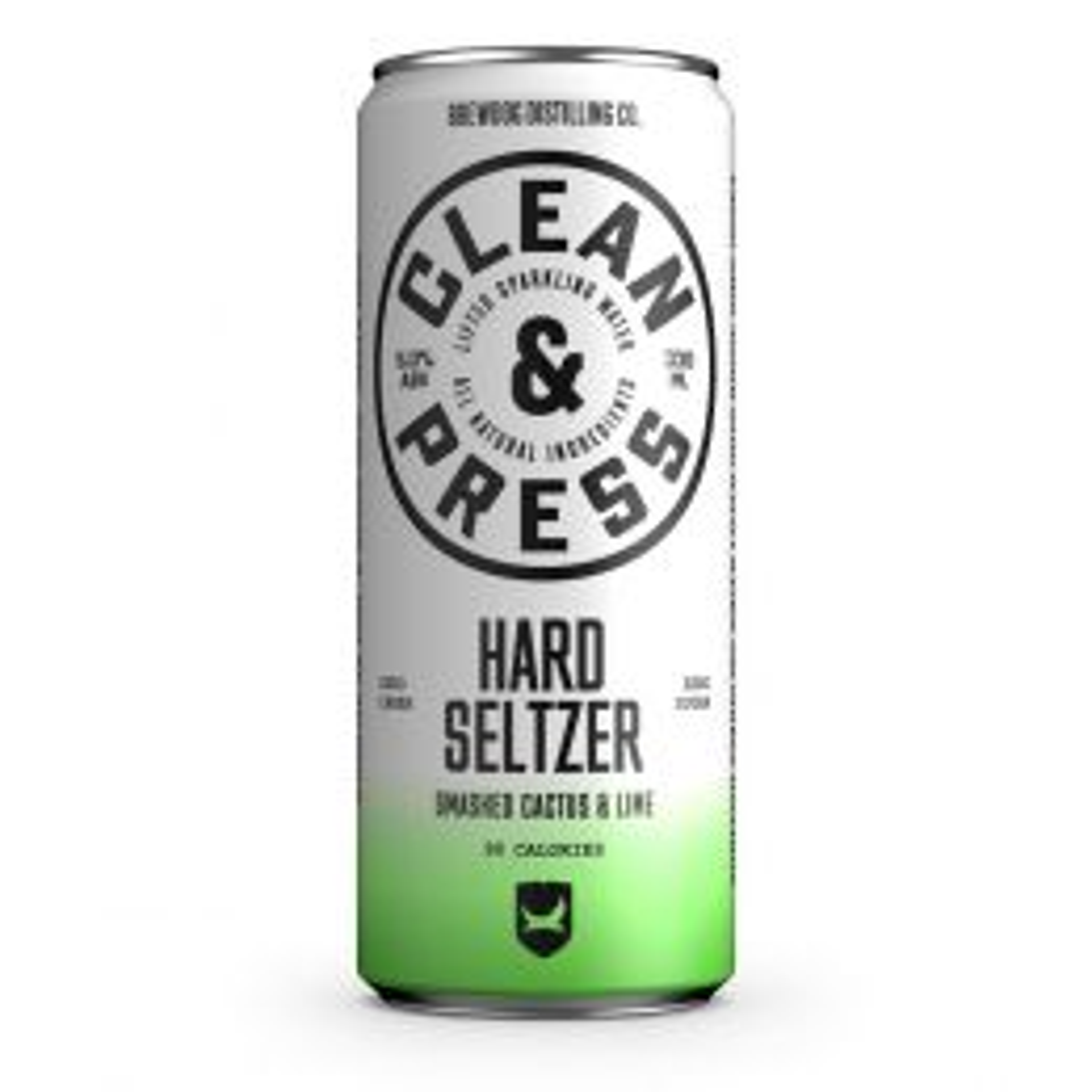 Brewdog Clean & Press Cactus & Lime Hard Seltzer 330ml