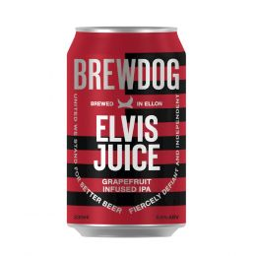 Brewdog Elvis Juice Ale 6x4x 330ml Cans