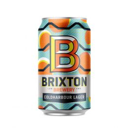 Brixton Brewery Coldharbour Lager 12x 330ml Cans