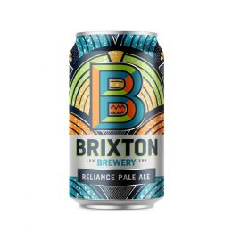 Brixton Brewery Reliance Pale Ale 12x 330ml Cans