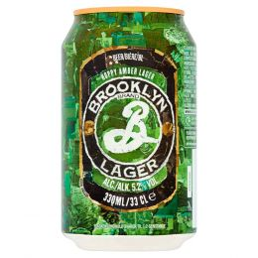 Brooklyn Hoppy Amber Lager 330ml Can