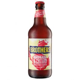 Brothers Rhubarb & Custard Cider 500ml