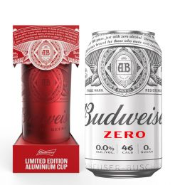 Budweiser 0.0 Alcohol Free Lager 24x 330ml