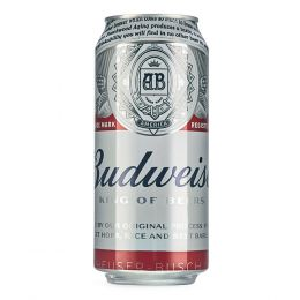 Budweiser Premium Lager 24x 440ml Cans