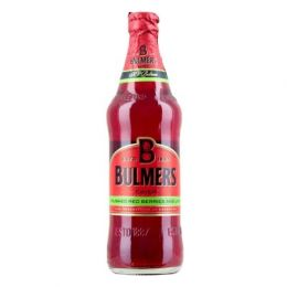 Bulmers Crushed Red Berries & Lime Premium Cider 12x 568ml