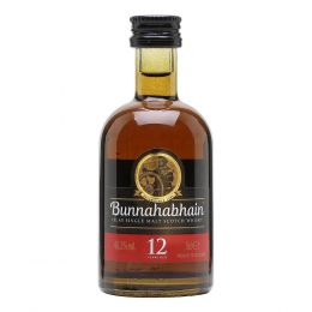Bunnahabhain 12 Year Whisky 5cl Miniature