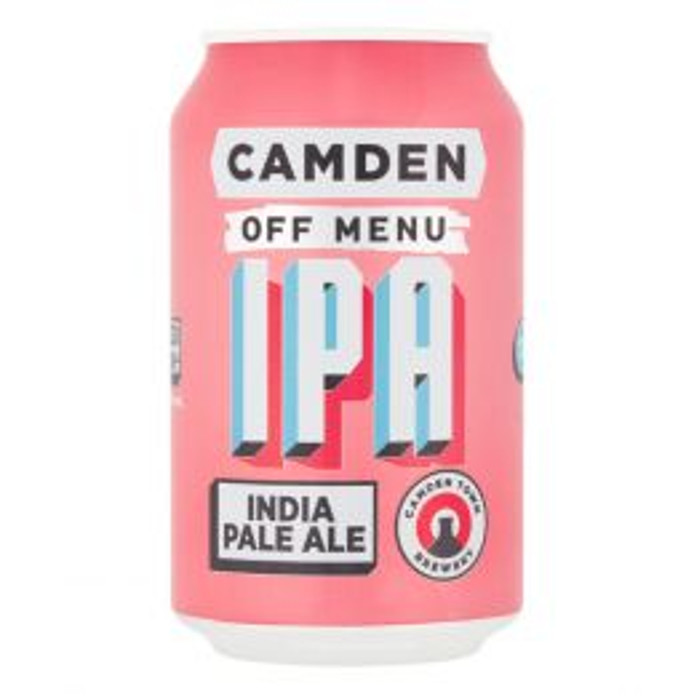 Camden Town Off Menu IPA 12x 330ml Cans