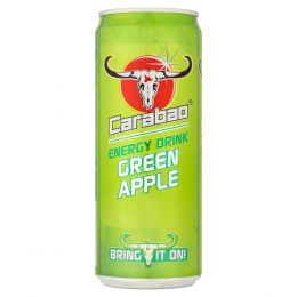 Carabao Green Apple Energy Drink 330ml