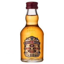 Chivas Regal 12 Year Whisky 5cl Miniature