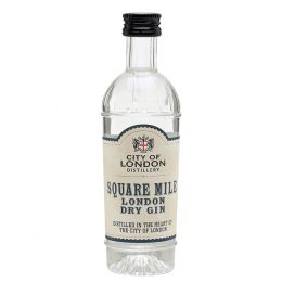 City of London Square Mile Gin 5cl Miniature
