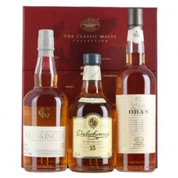 Red Classic Gentle Collection of Whiskies 3x 20cl Gift Tasting Pack