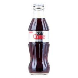 Coca Cola Diet Coke 24x 200ml Glass Bottles