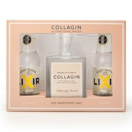 Collagin Gin 50cl Gift Pack