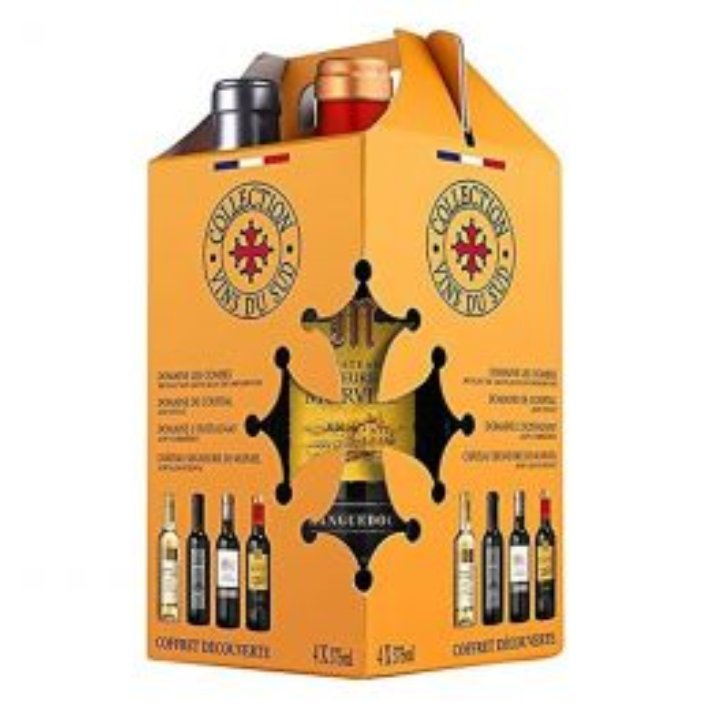 Collection Vins du Sud Wine 4 x 375ml Gift Pack