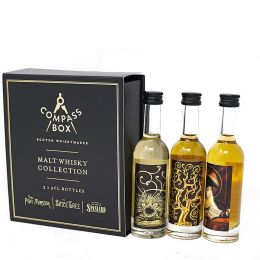 Compass Box Scotch Whiskymaker Malt Whisky Collection 3x 5cl Miniature Gift Pack
